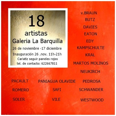 Group show and cultural festival in Almería