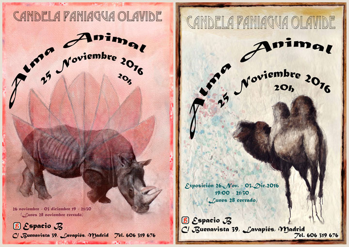 REPORT EXHIBITION ALMA ANIMAL (MADRID 2016)