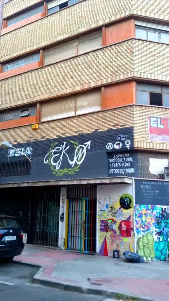 Fachada El Eko, Carabanchel