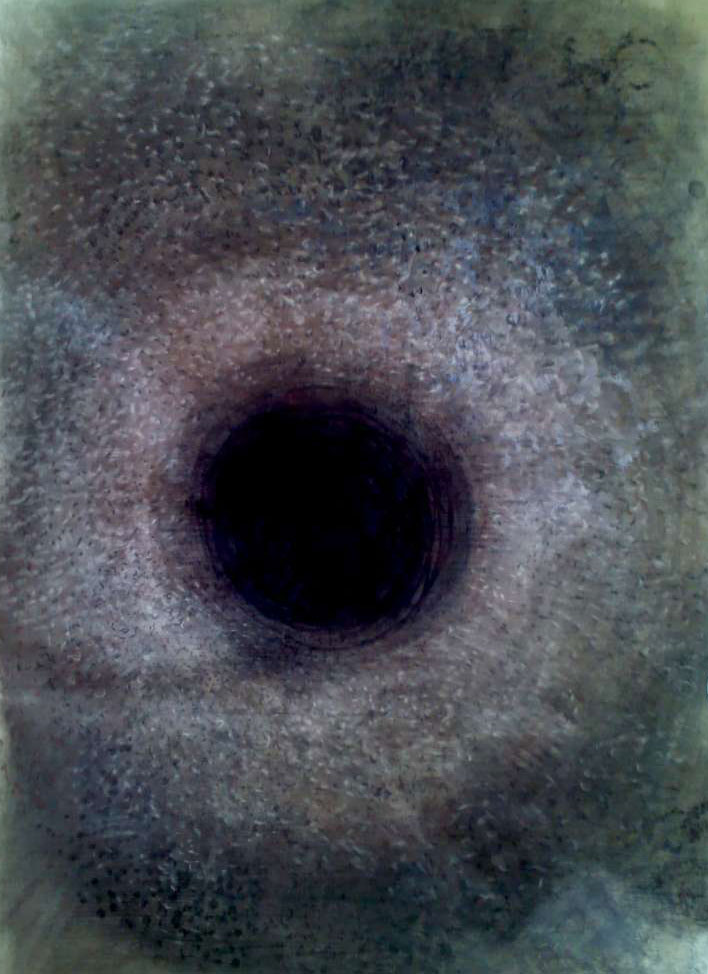 Hormiguero / Ant nest 78x120cm