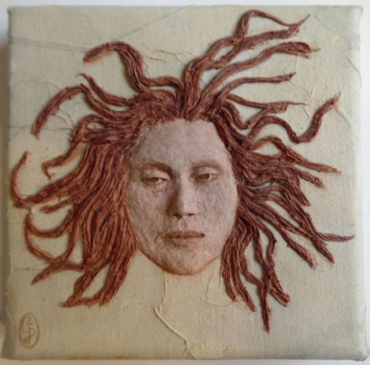 Medusa - 10x10cm