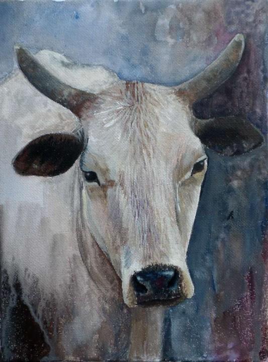 Vaca / Cow 18x24cm