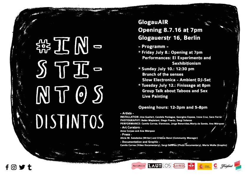 "Next group exhibition in Berlin: ""Instintos Distintos"""